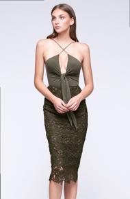 Stylestalker Thebes Bodysuit Olive