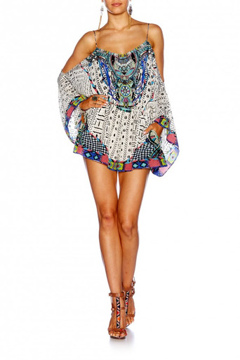 Camilla Maasai Mosh Drop Shoulder Playsuit