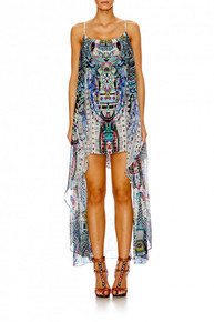Camilla Maasai Mosh Mini Dress with Long Overlay