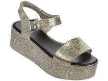 2017 Melissa Shoes Mar Platform Sandals Gold