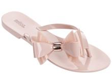 2017 Melissa Shoes Harmonic XI Flip Flop Beige