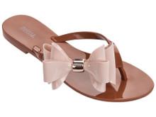 2017 Melissa Shoes Harmonic XI Flip Flop Brown