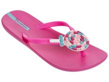 2017 Ipanema Lolly Kids Flip Flops Pink