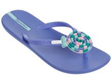 2017 Ipanema Lolly Kids Flip Flops Blue