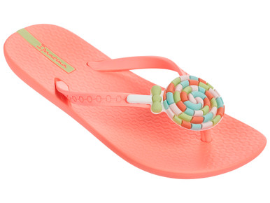 2017 Ipanema Lolly Kids Flip Flops Orange