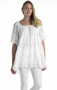 Tempo Paris Tunic Dress 66669 White