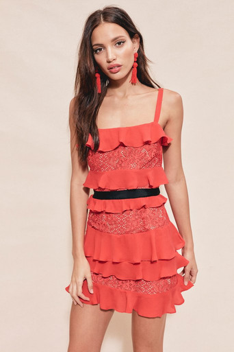 For Love and Lemons Chianti Tank Dress