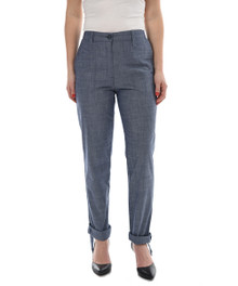 New Man Women's Linen Pant Denim