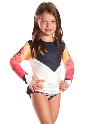 Agua Bendita Bendito Eclipse Nina Rash Guard