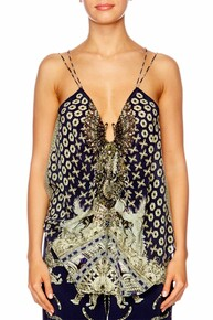 Camilla A Little Past Twilight U Ring Double Strap Top