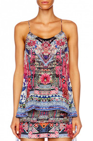Camilla From Kaili With Love T-Back Shoestring Top