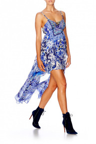 Camilla Guardian of Secrets Mini Dress with Long Overlay