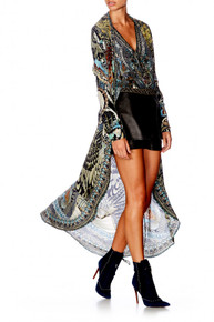 Camilla Girl On The Wing Casual Long Jacket