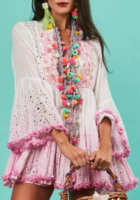 Antica Sartoria S101 Dress Pink