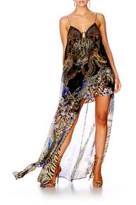 Camilla Dragon Lady U Ring Long Dress
