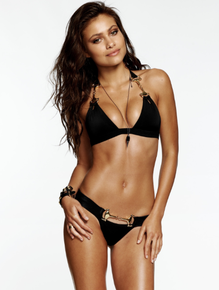 Beach Bunny Swimwear Unbridled Black