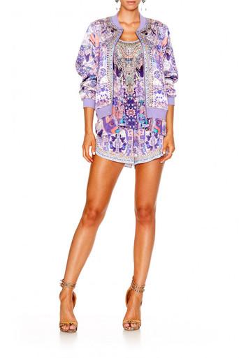 Camilla Still Life Bomber Jacket