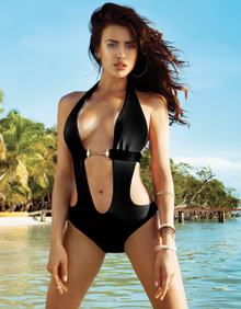 Beach Bunny Swimwear Unbridled One Piece Suit Black