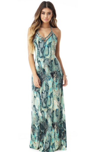 Sky Rajendra Maxi Dress Ocean
