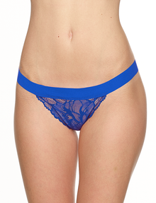 Commando LT17 Love + Lust G-String Electric Blue