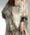 Tempo Paris 52781 Silk Watercolor Tunic Olive