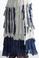 Tempo Paris 9608 Dip Dye Silk Jersey Maxi Skirt Taupe