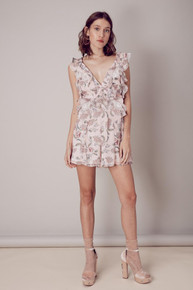 For Love and Lemons Bee Balm Floral Romper