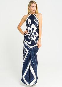 Trisha Paterson Silk Stretch Dress Hamptons 001
