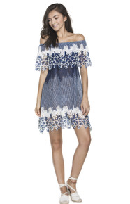 2018 Agua Bendita Mist Hattie 527 Dress