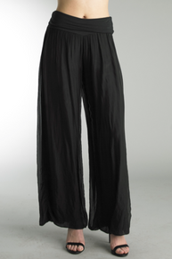 Tempo Paris 9992JA Silk Pant Black
