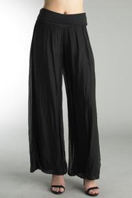 Tempo Paris 9992JA Silk Pant Black