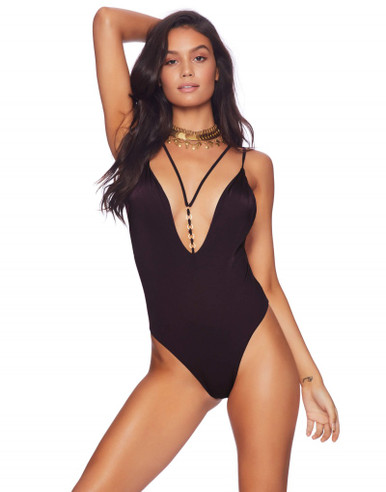 Beach Bunny Swimwear Ireland Ring One Piece Swimsuit Black