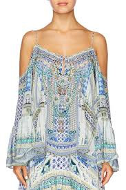 Camilla Salvador Summer Drop Shoulder Top
