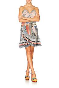 Camilla Meet Me Here Wrap Frill Dress