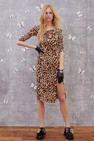 For Love and Lemons Leo Print Midi Dress