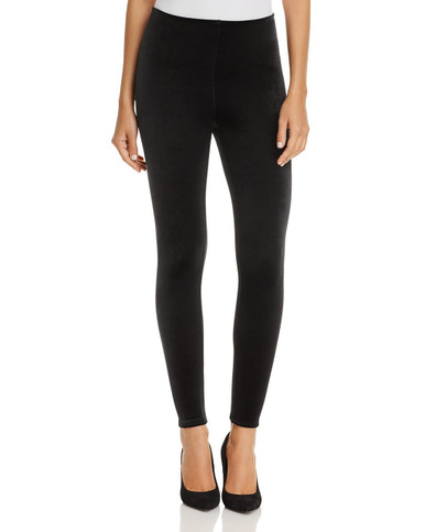 Commando Perfect Control Velvet Legging SLG05 Black