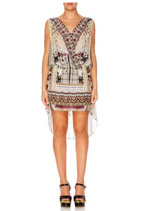 Camilla Spell Bound Cross Over Front Dress