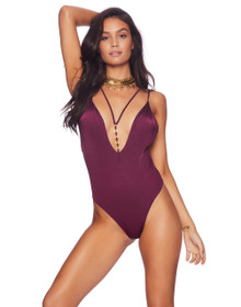Beach Bunny Swimwear Ireland Ring One Piece Swimsuit Plum