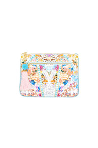 Camilla Girl Next Door Small Canvas Clutch