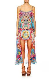 Camilla Ms MOCHILLA Mini Dress with Long Overlay