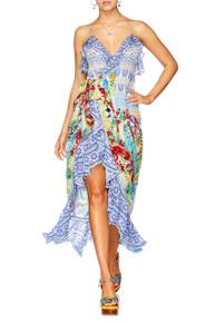 Camilla Masking Madness Frill Dress with Long Back