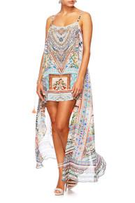 Camilla Lady Lake Mini Dress with Long Overlay