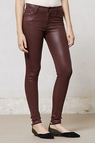 Citizens of Humanity Rocket Leatherette Jeans Wine