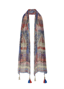 Camilla Overnight Bag Long Silk Scarf