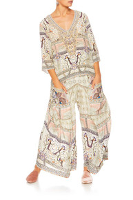Camilla Mama Bakshi Wide Leg Trouser with Pockets