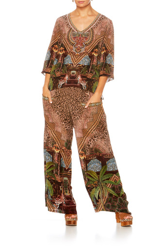 Camilla The Gypsy Lounge V-Neck Oversized Blouse