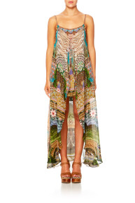 Camilla A Woman's Wisdom Mini Dress with Long Overlay