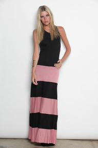Karina Grimaldi Biscot Sleeveless Maxi Dress