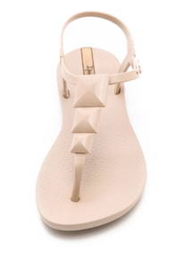 Ipanema Maya Studded Sandals in Nude