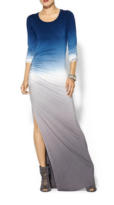 Young Fabulous & Broke Blais Maxi Dress in Marine Ombre